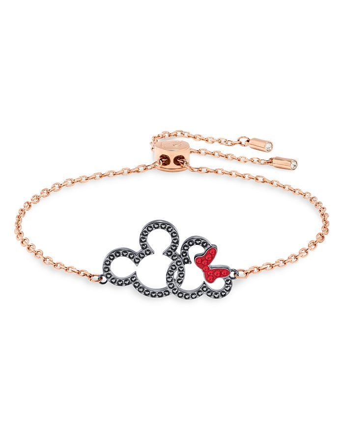 Swarovski - Mickey & Minnie Adjustable Bracelet