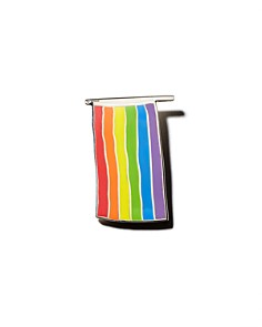 MoMA - Rainbow Flag by Gilbert Baker Pin