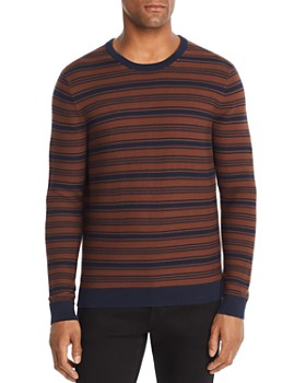 Michael Kors - Striped Garter-Stitch Sweater