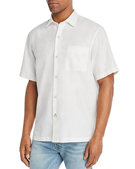 Tommy Bahama - Camden Coast Short-Sleeve Jacquard Classic Fit Shirt