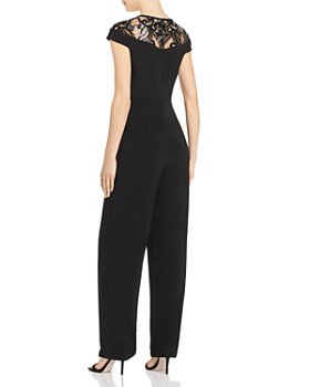 Adrianna Papell - Embellished Jersey Jumpsuit