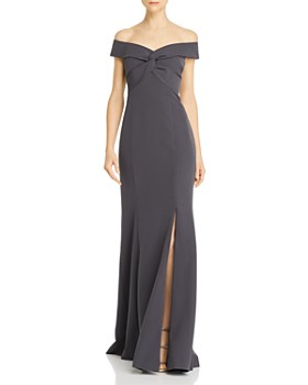 Aidan Mattox - Off-the-Shoulder Gown