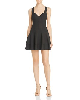 Finders Keepers - Lines Mini Dress