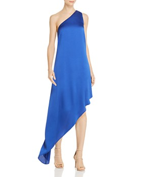 Laundry by Shelli Segal - One-Shoulder Asymmetric Gown