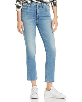 MOTHER - The Insider Cropped Flared Jeans in A Side Of Rice And Beans