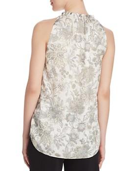 ece37801882de ... Elie Tahari - Bessie Printed Sleeveless Blouse