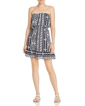 AQUA - Popover Strapless Dress - 100% Exclusive