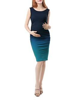 Kimi & Kai - Sia Sleeveless Ombré Maternity Dress