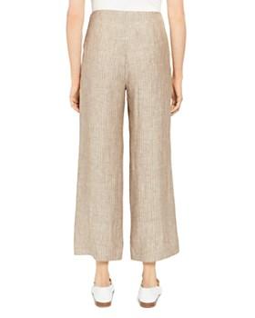 Theory - Striped Crop Pants