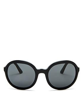 Prada - Women's Round Sunglasses, 56mm
