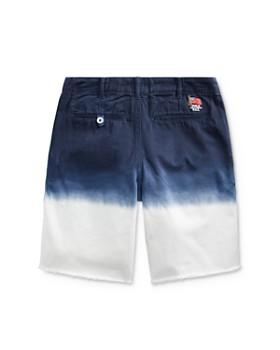 Ralph Lauren - Boys' Straight Fit Dip-Dyed Shorts - Big Kid