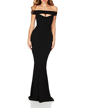 Nookie - Heartbreaker Off-the-Shoulder Gown
