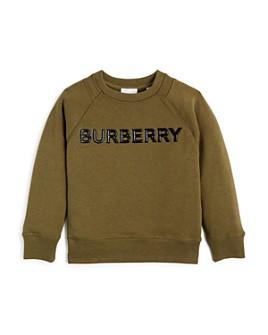 Burberry - Boys' Derick Logo Sweatshirt - Little Kid, Big Kid