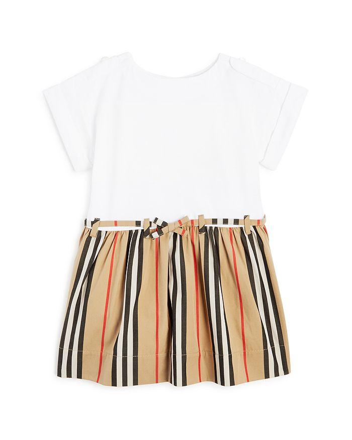 Burberry - Girls' Rhonda Icon Stripe Dress - Baby
