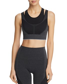 LNDR - Juno Layered-Look Compression Sports Bra
