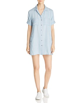 Billy T - Striped Chambray Mini Dress