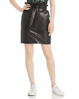 Anine Bing - Laurie Leather Mini Skirt