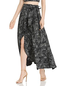 Amur - Knox Floral Wrap Skirt