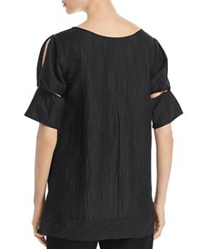 SNIDER - Parisian Cutout-Sleeve Tunic Top