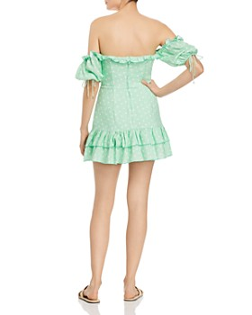 Finders Keepers - Wildflower Off-the-Shoulder Mini Dress