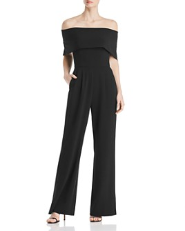 Eliza J - Off-the-Shoulder Jumpsuit