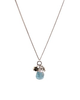 Chan Luu - Adjustable Pendant Necklace in 18K Gold-Plated Sterling Silver or Sterling Silver, 16""