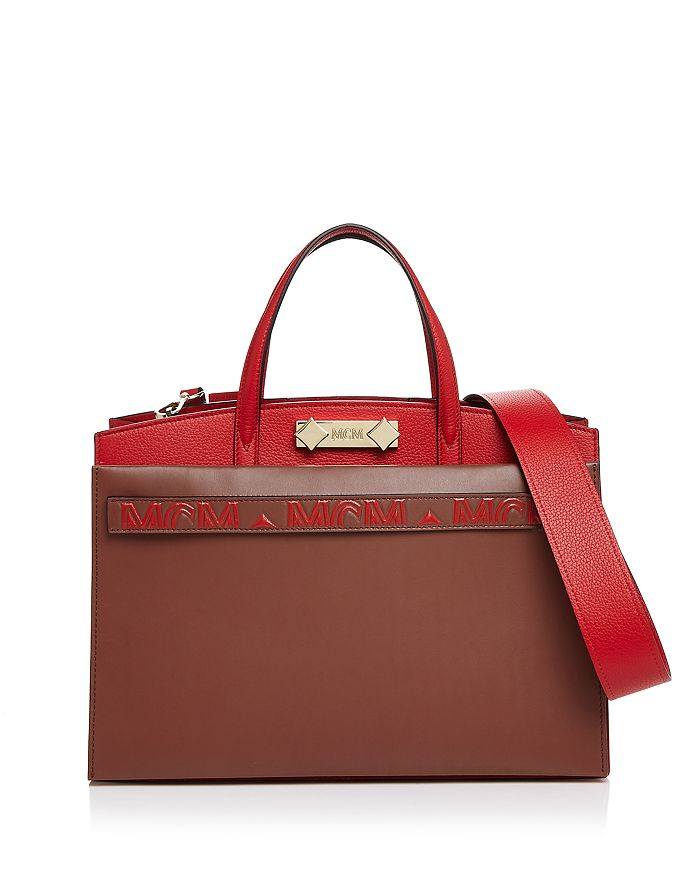 MCM - Milano Medium Leather Tote