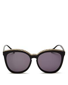 Stella McCartney - Women's Chain-Trim Cat Eye Sunglasses, 59mm