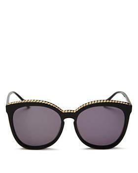 73aa090a452f8 Stella McCartney - Women s Chain-Trim Cat Eye Sunglasses