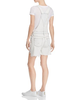 Hudson - Sloane Denim Shortalls in Bleach Out