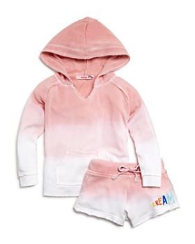 Play Six - Girls' Ombré Dream Hoodie & Shorts - Little Kid