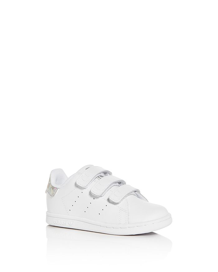 Adidas - Unisex Stan Smith Leather Low-Top Sneakers - Walker, Toddler