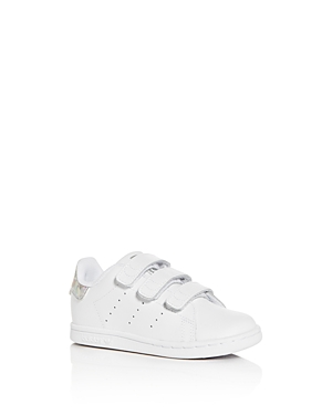 Adidas Unisex Stan Smith Leather Low-Top Sneakers - Walker, Toddler