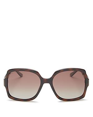 Jimmy Choo Women\\\'s Sammi Polarized Square Sunglasses, 55mm-Jewelry & Accessories