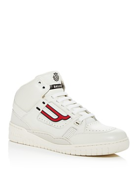 Bally - Men's King Leather High-Top Sneakers