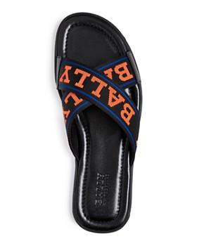 Bally - Men's Bonks Crisscross Slide Sandals