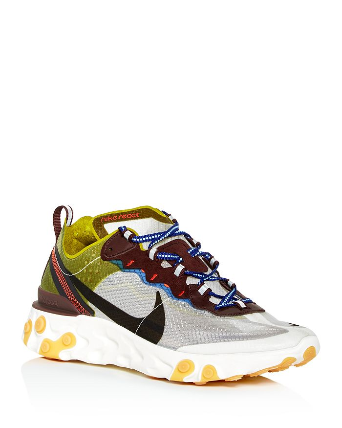 premium selection 80399 ac705 Nike - Men s React Element 87 Low-Top Sneakers