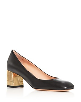 Bally - Women's Emily Block-Heel Pumps