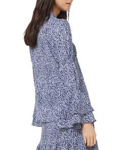 MICHAEL Michael Kors - Ikat-Print Bell-Sleeve Blouse