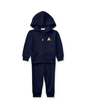 Ralph Lauren - Boys' Polo Bear Hoodie & Pants Set - Baby