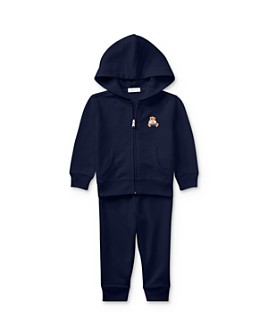 Ralph Lauren - Boys' Polo Bear Hoodie & Pants Set - Baby