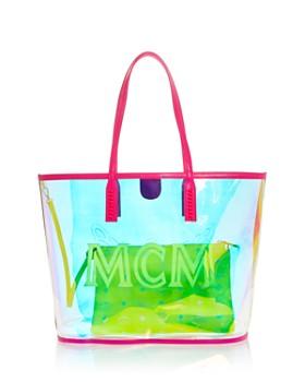 MCM - Medium Iridescent Shopper Tote