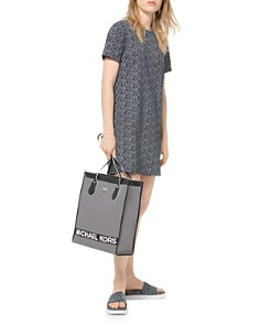 MICHAEL Michael Kors - Logo-Print Graphic Tee Dress