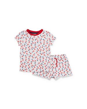 Sovereign Code Girls' Cherry Tee & Shorts Set - Baby