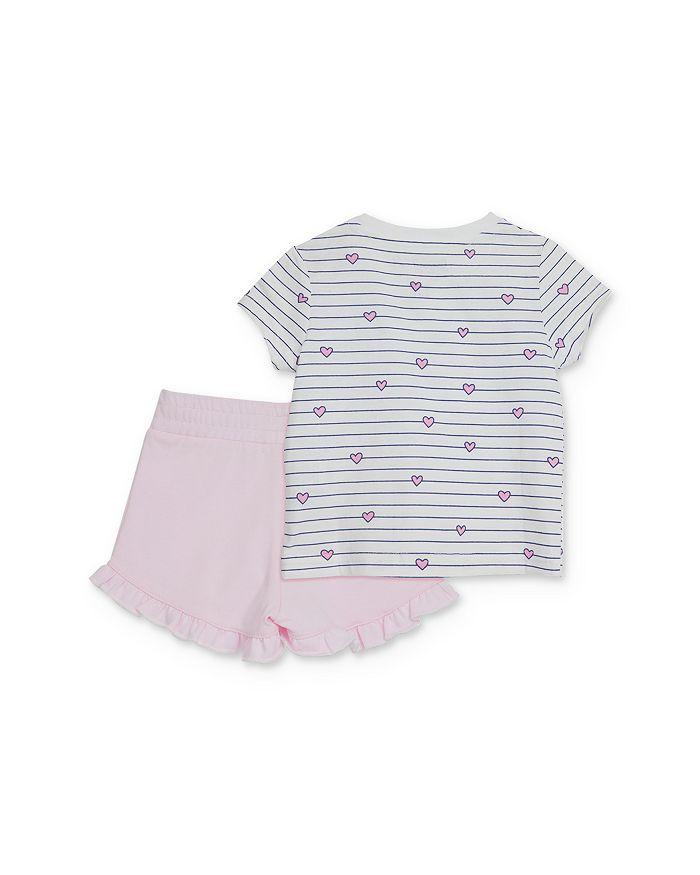 Sovereign Code - Girls' Striped Tee & Ruffled Shorts Set - Baby