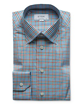 Eton - Check Regular Fit Dress Shirt