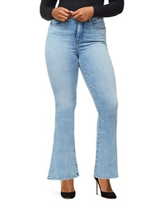 Good American - Good Flare Jeans in Blue258