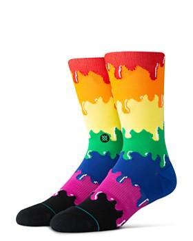 Stance - Pride Dripping Rainbow Socks
