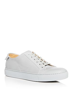 4ceed77f5021 Collegium Men's Pillar Leather Low-Top Sneakers In Light Gray | ModeSens