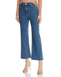3x1 - Nicolette High-Rise Cropped Flared Jeans in Anya